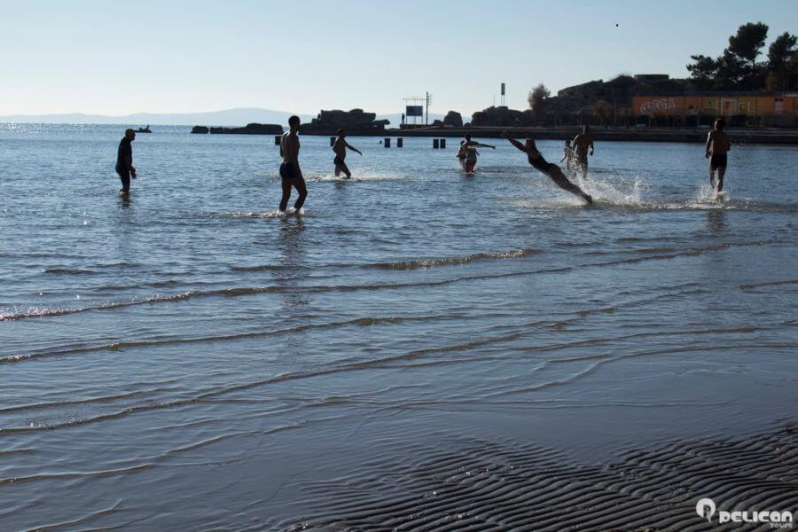 Bacvice beach Split Croatia