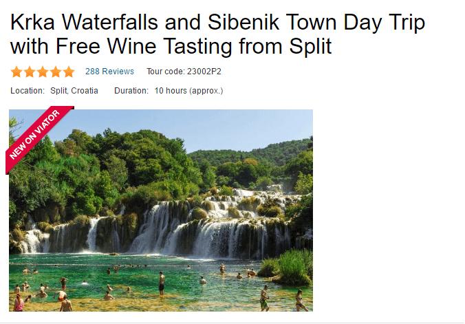 Best Krka Trip From Split on Viator, TA & Expedia