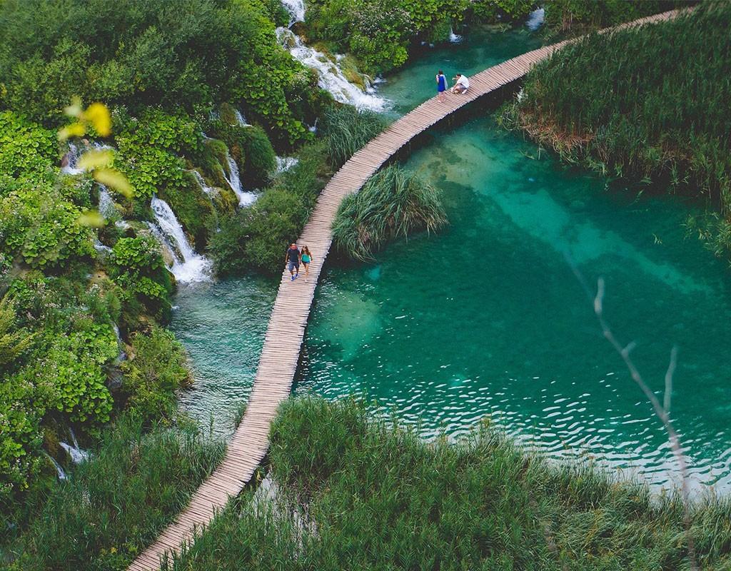 Plitvice Lakes Bridge