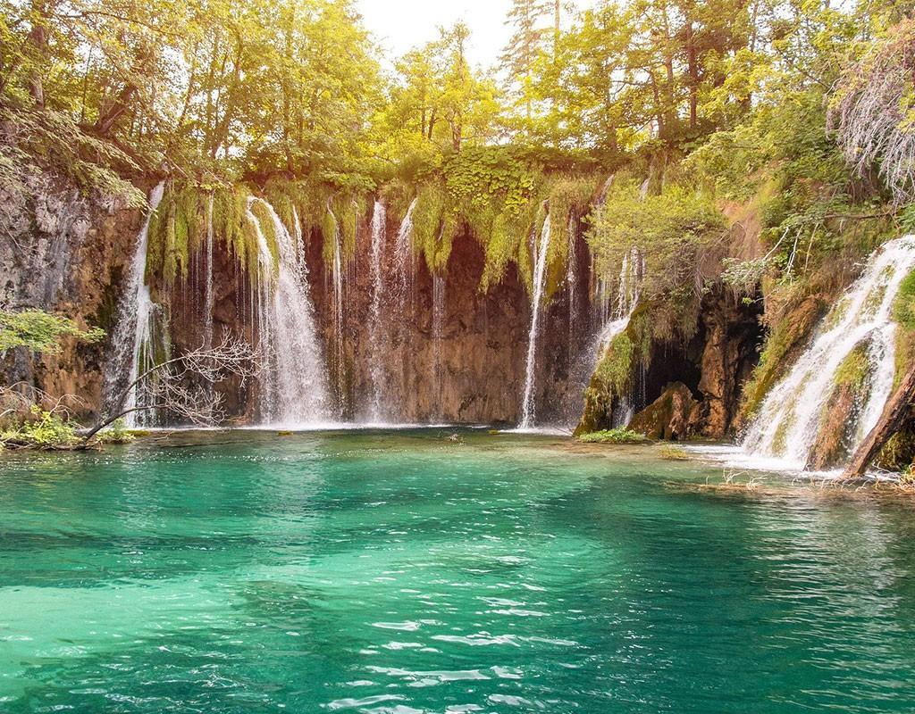 Plitvice Lakes Waterfallas