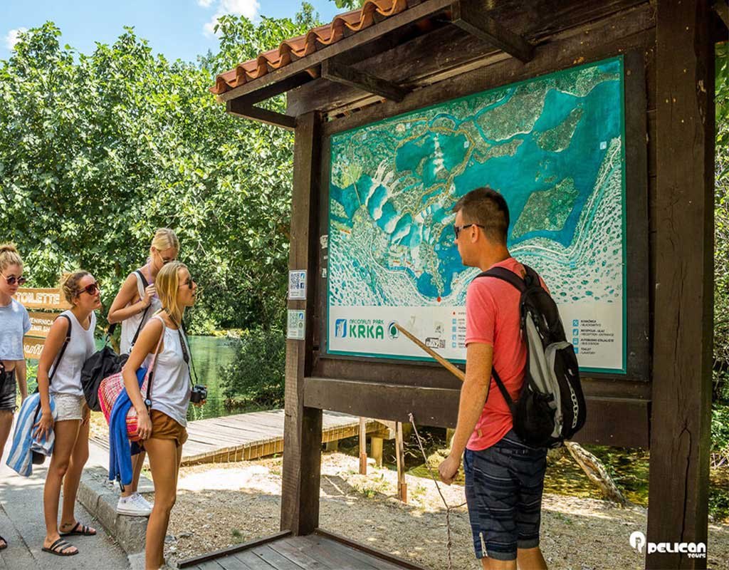 Private Krka Waterfalls Guided Tour