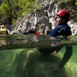 Canyoning Relaxation Time