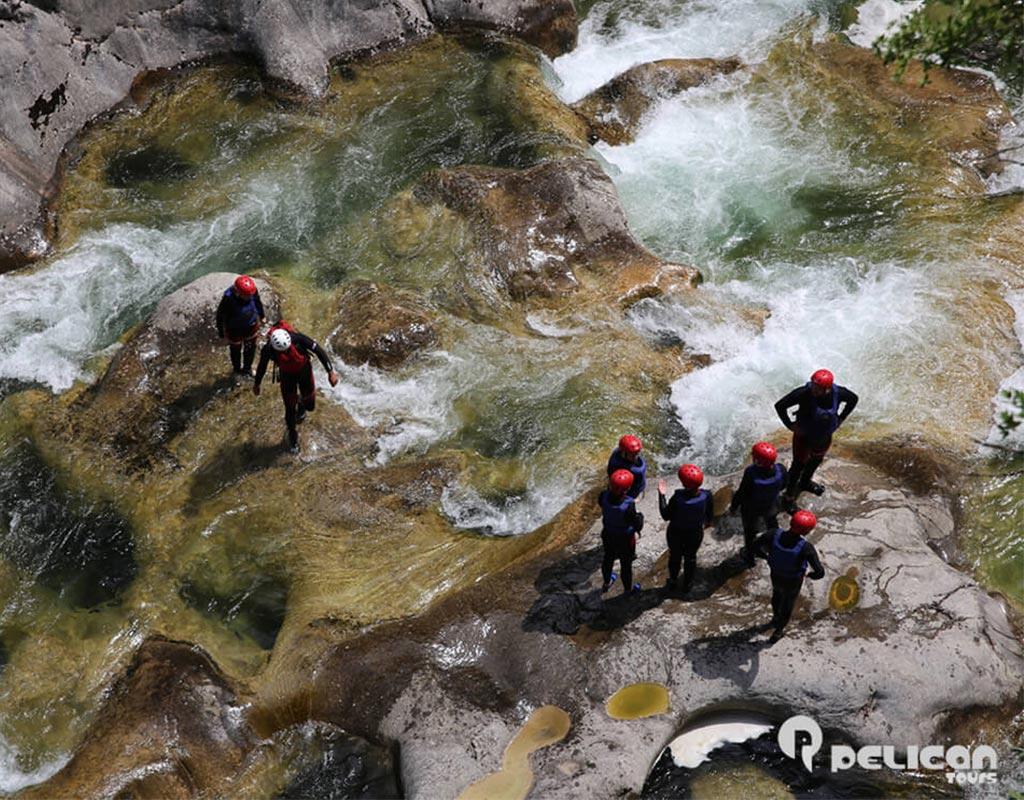 Extreme Canyoning Hiking