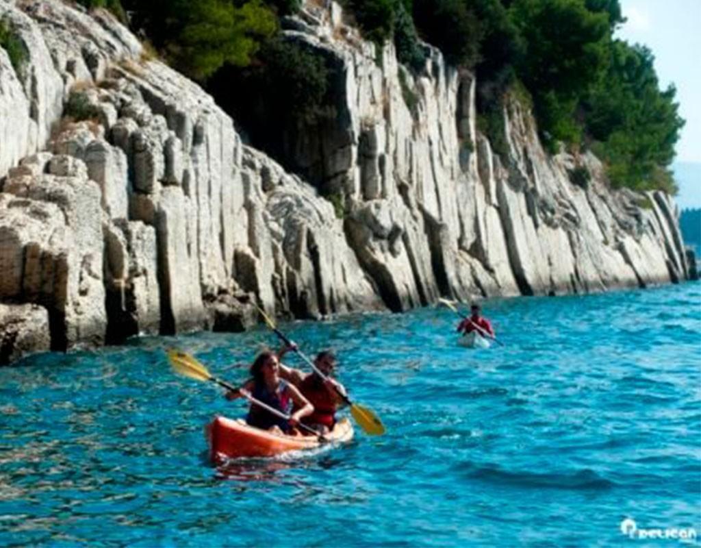 Kayaking Tour Cliffs