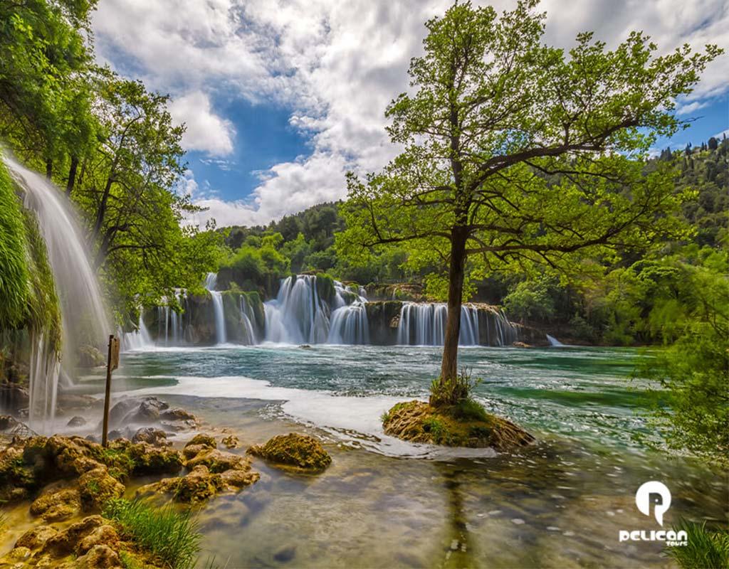 Krka Waterfalls Tour Multiple Waterfalls