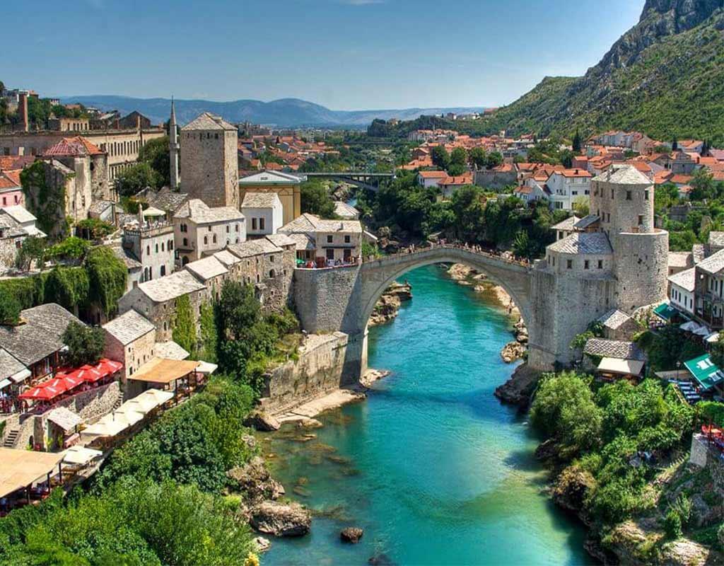 Mostar Private Tour River Through City