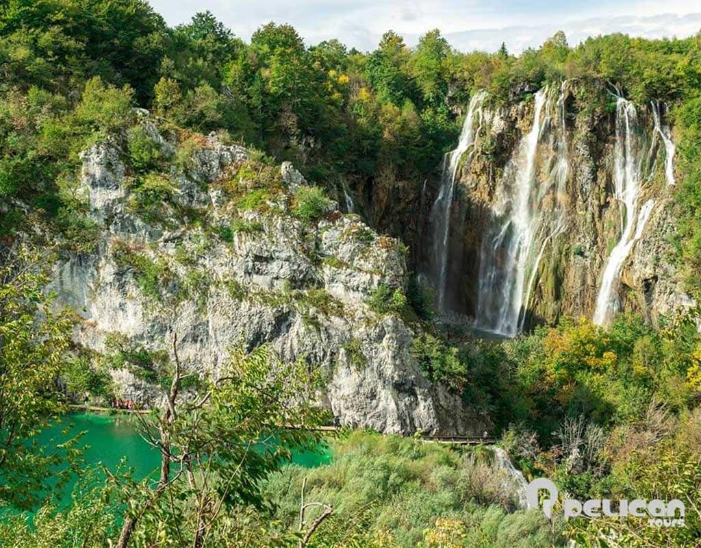 Plitvice Lakes Private Tour Big Waterfalls
